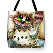 The Cheshire Cat - In A Teapot Tote Bag