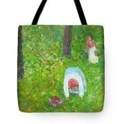 The Chestnut Gatherers Tote Bag
