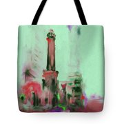 The Chicago Water Tower 535 4 Tote Bag