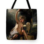 The Child Baptist In The Wilderness Tote Bag
