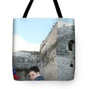 The Child Of Bethlehem 2010 Tote Bag