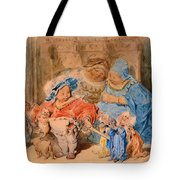 The Childhood Of Gargantua Tote Bag