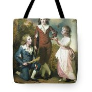 The Children Of Hugh And Sarah Wood Of Swanwick Derbyshire Tote Bag