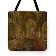 The Choir - Canterbury Cathedral Tote Bag