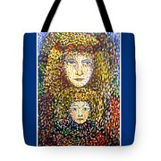 The Chosen One With The Holy Child Tote Bag