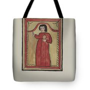 The Christ Child-retalba El Nino Perdido, (the Lost Child) A Retabla Tote Bag