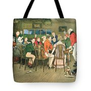 The Christmas Dinner At The Inn Tote Bag