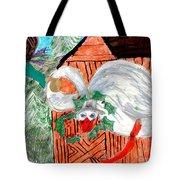 The Christmas Goose Tote Bag