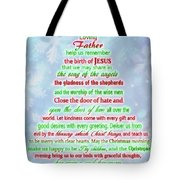 The Christmas Prayer Tote Bag