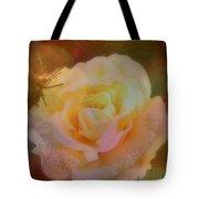The Christmas Rose Tote Bag