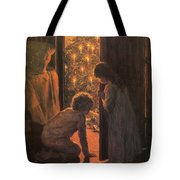 The Christmas Tree Tote Bag by Henry Mosler