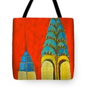 The Chrysler And The Empire State Tote Bag