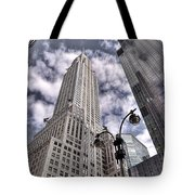 The Chrysler Building In Nyc Usa Tote Bag