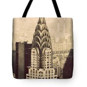 The Chrysler Building New York Tote Bag