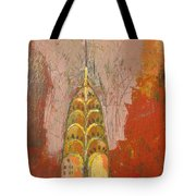 The Chrysler In Motion Tote Bag by Habib Ayat