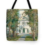 The Church At Gloucester, 1918 Tote Bag