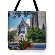 The Church In Summer Tote Bag