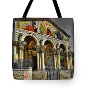 The Church Of All Nations Tote Bag