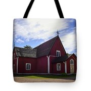 The Church Of Kustavi Tote Bag