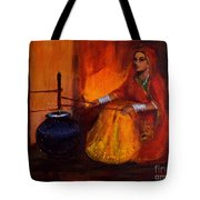 The Churning Tote Bag