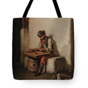 The Cimbalom Player Tote Bag