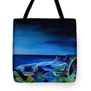 The City At The Sea Tote Bag