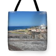 The City Awaits Tote Bag