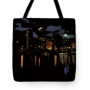 The City Dark Tote Bag