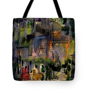 The City Garden Tote Bag