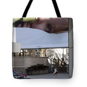 The City Is Watching Tote Bag