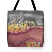 The City Of Nineveh With Stormfront Tote Bag