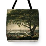 The City Of Philadelphia In The State Of Pennsylvania. North America Tote Bag