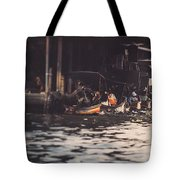 The City On The Water. Thailand. Tote Bag