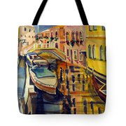 The City Where The Rainbow Fell Tote Bag