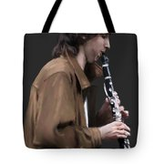 The Clarinet Player Tote Bag