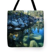 The Clarity Of Morning  Tote Bag