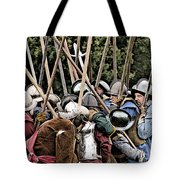 The Clash Of The Pikemen Tote Bag
