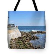 The Cliff Walk Newport Rhode Island 4 Tote Bag