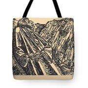 The Cliffs Tote Bag