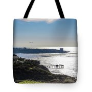 The Cliffs, Ocean And Sky At La Jolla, California Tote Bag