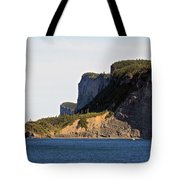 The Cliffs Of Forillon  Tote Bag
