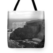 The Cliffs Of Mohar II - Ireland Tote Bag by Mike McGlothlen