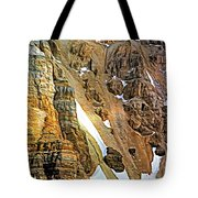 The Climb To Abbot's Hut - Paint Tote Bag