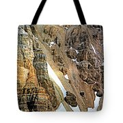 The Climb To Abbot's Hut Tote Bag