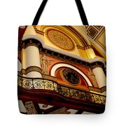 The Clock In The Union Station Nashville Tote Bag
