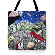 The Clock Is Ticking Tote Bag