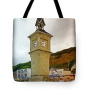 The Clock Tower At Shanklin Tote Bag
