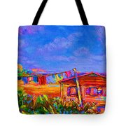 The Clothesline Tote Bag
