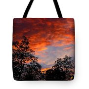 The Clouds Of Pink Tote Bag