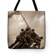 The Clouds Over Iwo Jima Tote Bag